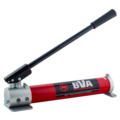 BVA Hydraulics Two Speed Aluminum Sinlge Acting Hand Pumps P1000