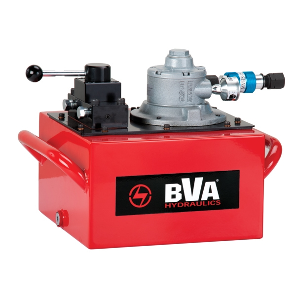 Rotary Air Valve : Rotary air pump with gal usable oil for single acting