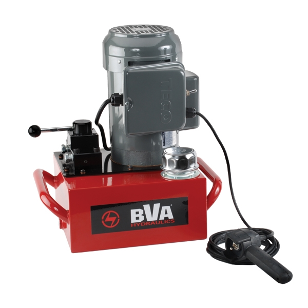 Electric Pump With Locking Manual Valve And Pendant Switch