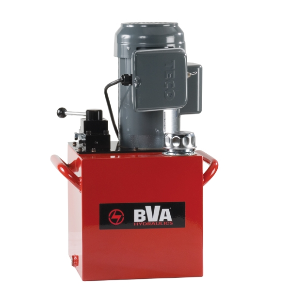 Electric Hydraulic Valve Kit : Electric pump with manual valve gal usable oil